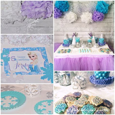 party themes frozen party printables freebie kids party