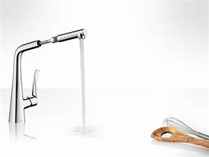 Küchenarmaturen Mit Brause : metris k chenarmatur mit abnehmbare brause by hansgrohe design phoenix design ~ Eleganceandgraceweddings.com Haus und Dekorationen