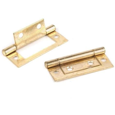 2 Non Mortise Cabinet Hinges by 2 Inch Non Mortise Brass Hinge S Restorers 174