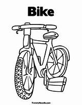 Coloring Unicycle Pages Getdrawings Letter Bike Yahoo Printable Bmx sketch template