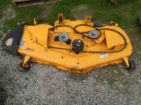 cub cadet lgtx1054 54in mower deck parts repair used