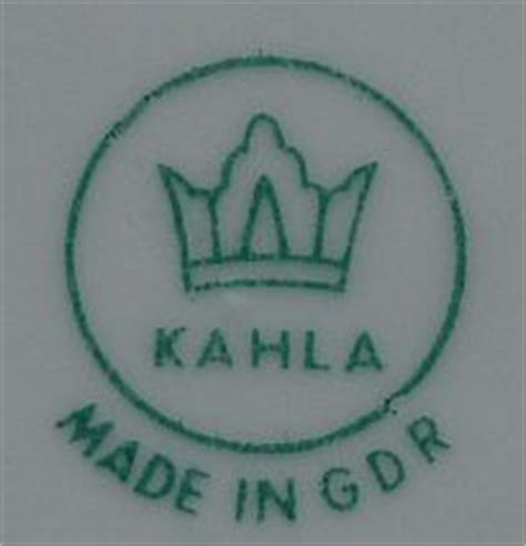 kahla porzellan gdr wert porzellanmarken bestimmen mit der sammler porzellanmarken datenbank