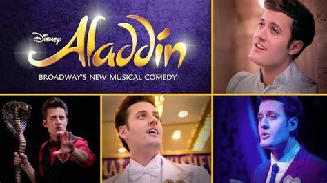 Nick Pitera's One Man Tribute to Aladdin on Broadway Oh