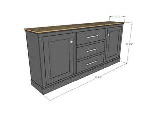 Wood Credenza File Cabinet by Ana White Build A Planked Wood Sideboard Free And Easy