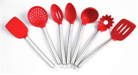 ustensile cuisine silicone gros gratuite 7 peça silicone ustensiles de cuisine outils