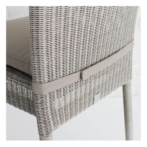 coussins chaises coussin chaise en résine isabelle coloris gris