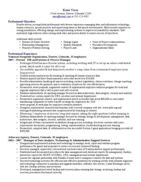 resume exles 2015 best resume objectives for