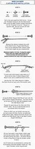 Wire Shower Curtain Rod Installation Instructions