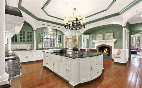 ideas for space above kitchen cabinets this 17 9 million chappaqua property sits on 86 lakefront