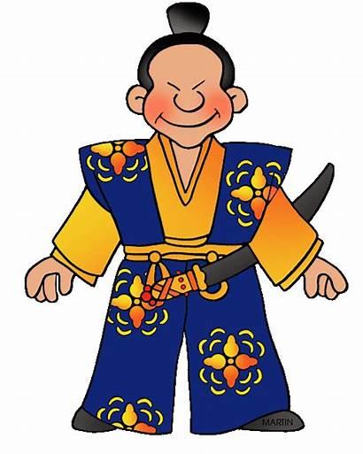 Japan Donn Mr Feudal Lesson Classroom Clipart