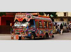 Colorful Decorated BusesPhilippines Jeepneys,Haiti