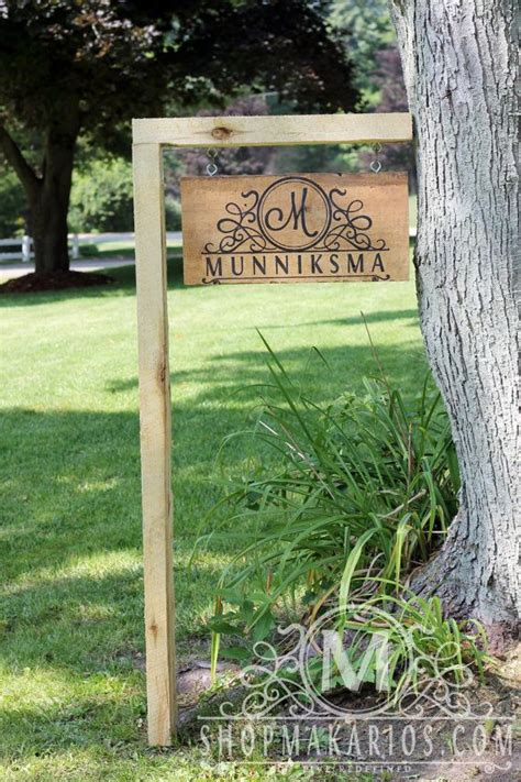 custom backyard signs best 25 custom yard signs ideas on pallet