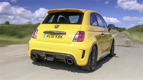 Top Gear Fiat Abarth by Review The Bonkers Abarth 695 Biposto Record Top Gear