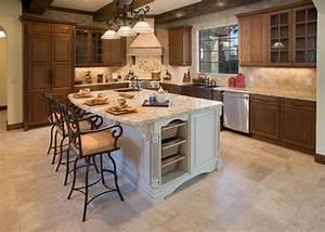 10, Beautiful, Kitchen, Island, Table, Designs