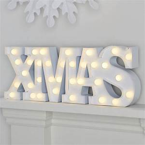 large light up 39xmas39 christmas sign by ginger ray With noel lighted letters