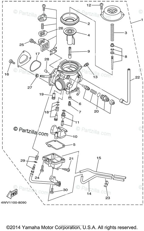 Yamaha Ttr Carburetor Diagram House Wiring