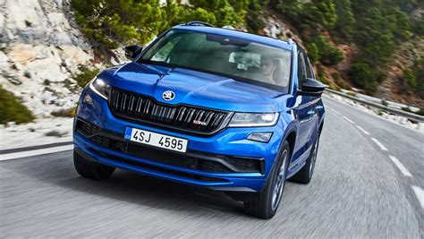 skoda kodiaq rs  confirmed  australian showrooms