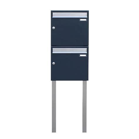 briefkasten freistehend anthrazit sd1 doppel briefkasten freistehend anthrazit g 252 nstig