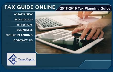 tax planning guide canon capital