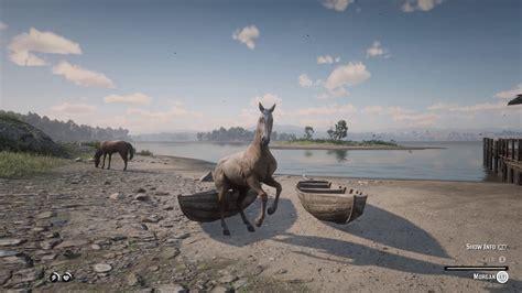 tame wild rdr2 horse