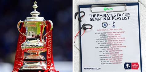 Check Out The FA Cup Semi Final Playlists - Sport Playlists