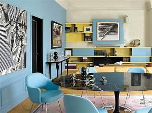 Couleur De Peinture Pour Salon : peinture salon plus de 20 couleurs canons pour le ~ Melissatoandfro.com Idées de Décoration