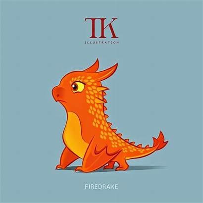 Character Dragons Firedrake Kurniawan Thomas