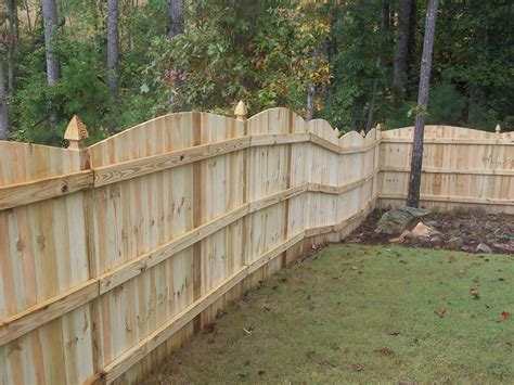 arched privacy fences cumming roswell ga accent fence