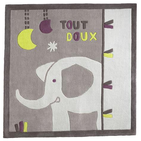 chambre sauthon india india tapis carré gris de sauthon baby déco tapis aubert