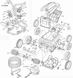 Polaris 9300 Sport Robotic Cleaner Parts