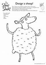 Sheep Worksheet Lamb Worksheets Preschool Patterns Stitchery Embroidery Shaw Sketchbook Measles Weasels Hannah Career sketch template