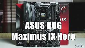 Asus Rog Maximus Ix Hero - Full Overview