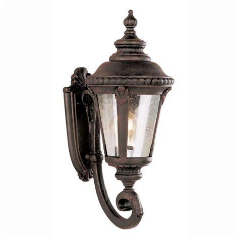 bel air lighting way 1 light outdoor rust coach
