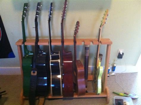 hand  guitar rack  moose time design custommadecom