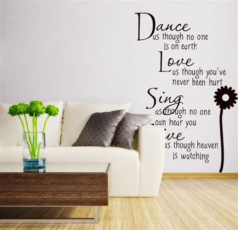 wall quotes vinyl wall decalshome decor removable wall