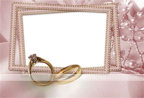 cadres photo les anneaux de mariage