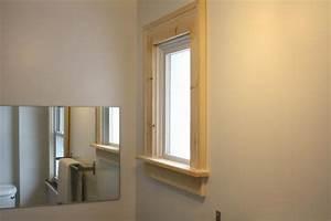 Caulking interior window trim wwwindiepediaorg for How to replace a bathroom window