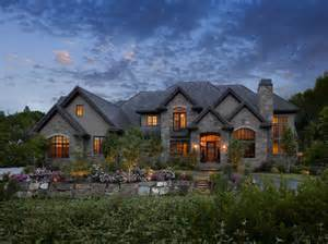 Custom Build House Ideas Photo Gallery by Exteriors Traditional Exterior Salt Lake City By