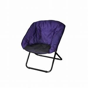 Fauteuil De Camping Pliant : fauteuil pliant shine violet tabouret de bar ~ Dailycaller-alerts.com Idées de Décoration
