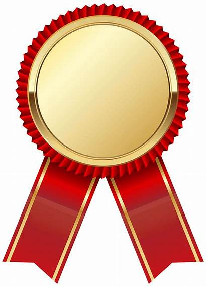 Ribbon Medal Gold Clipart Transparent Clipground