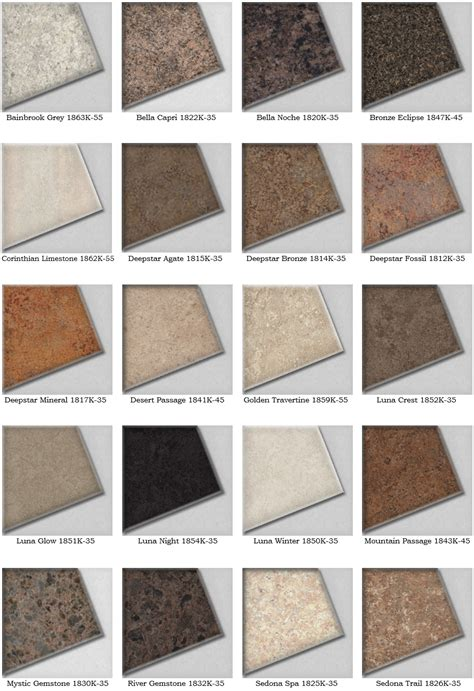 popular laminate countertop colors best countertop using wilsonart laminate countertops ideas