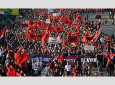 Largest Albanian protest in history held in Macedonia