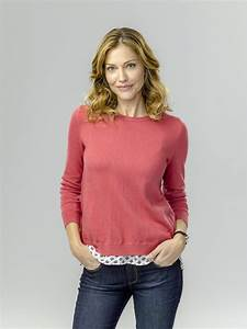 Tricia Helfer as Olivia Young on Operation Christmas ...  Tricia