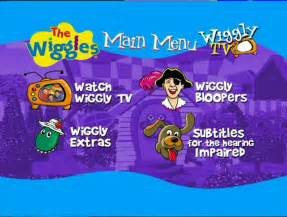 Wiggles Wiggly Safari DVD Menu