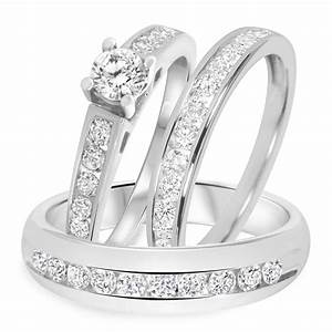 beautiful wedding ring sets weneedfun With wedding ring sets