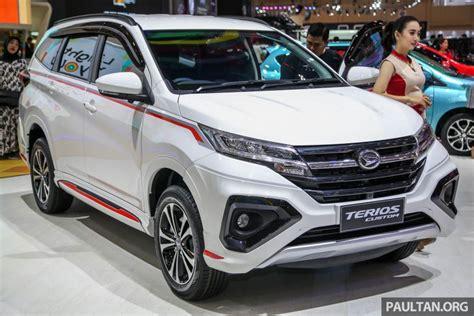 Daihatsu Suv by Giias 2018 Daihatsu Terios Custom New Sporty Range