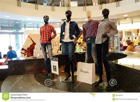 mannequins  shopping mall editorial stock image image