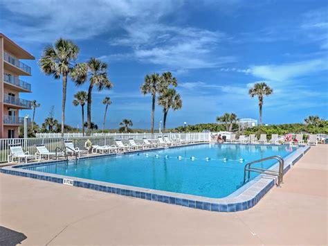 Oceanfront Cocoa Beach Condo Wview Walk T Homeaway