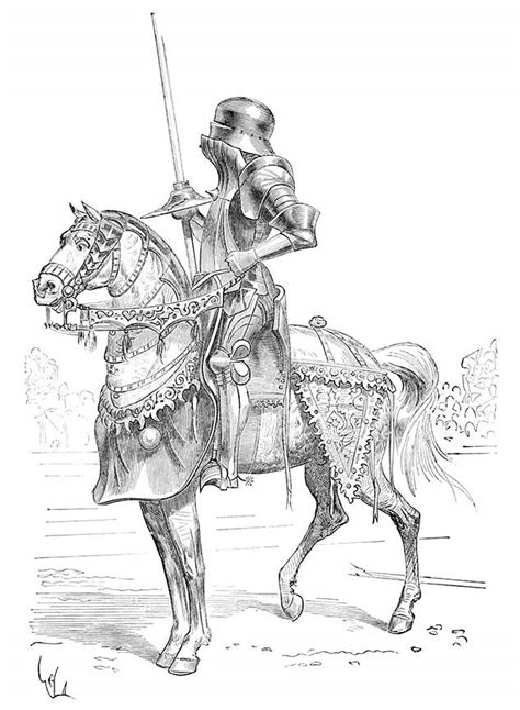 rennzeugjousting armor  book illustrations