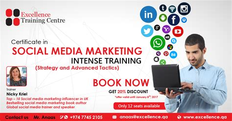 social media marketing classes social media marketing boot c in qatar